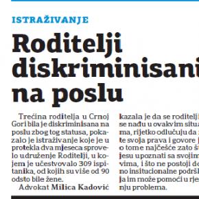 Dnevne novine, 8. novembar 2012.