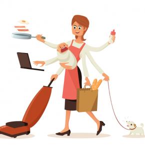 Zaposlene mame rade bar 40 sati sedmično, a čak 60 sati imaju posla zbog porodice